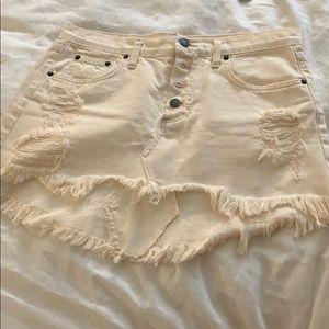 LF/ Carmar Jean skirt